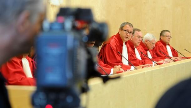 Urteil Bundesverfassungsgericht - klein