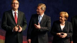 Wulff: Regierung schwächt Parlament
