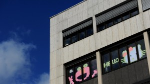 Post-it Kunstwerke in Hannover