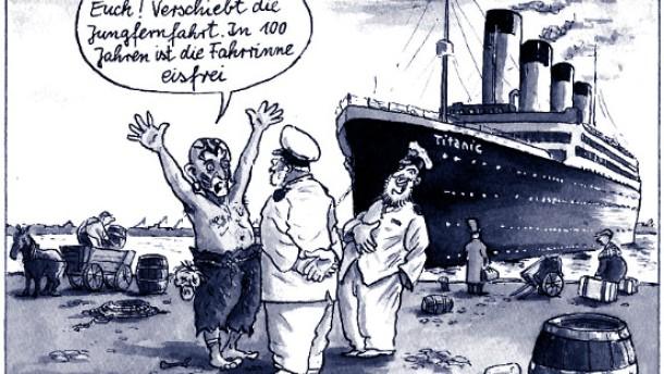 Karikatur / Greser & und Lenz / Klima Klimaveränderung