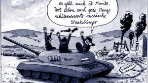 Kritik an Moskaus Gebaren in Georgien wird lauter