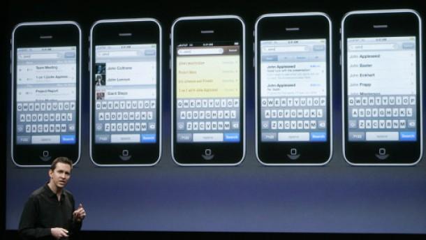 Jetzt wird auch Apples iPhone modern