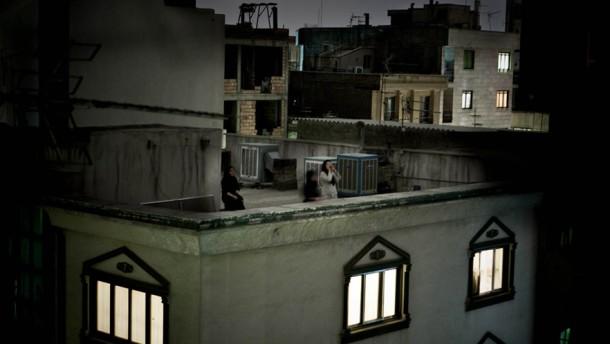 Auf den Dächern von Teheran
