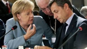 Kritik an Merkels Vereinbarung mit Sarkozy