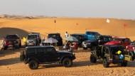 Wüstenpicknick vor den Toren Dubais