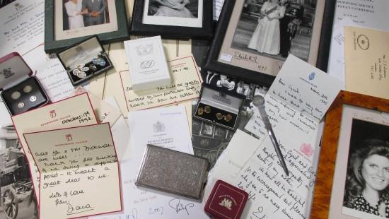 Auktionshaus bringt Dianas Briefe unter den Hammer