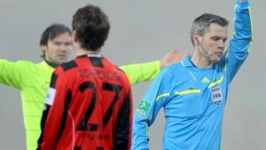 Eintracht scheitert am Favoritenschreck