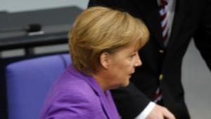 Große Koalition uneins in Europapolitik
