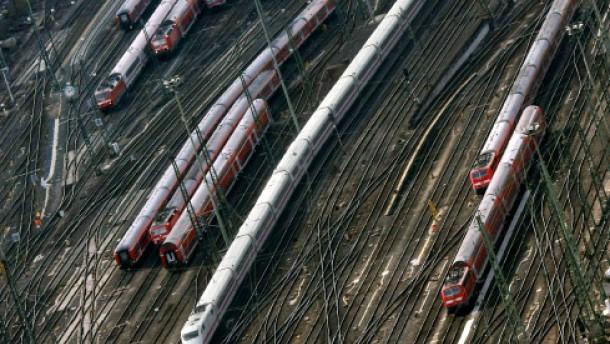 Die Bahn plant, Darmstadt bremst