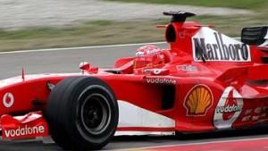 Schumacher schon in Bahrain im neuen F 2005