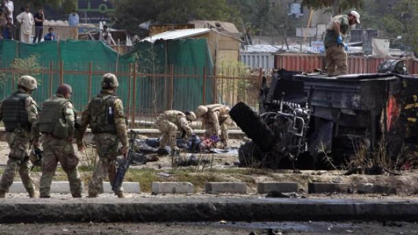 Anschlag auf Isaf-Soldaten in Kabul