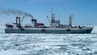 Schiffunglück vor Kamtschatka