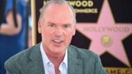 Michael Keaton hat seinen Stern