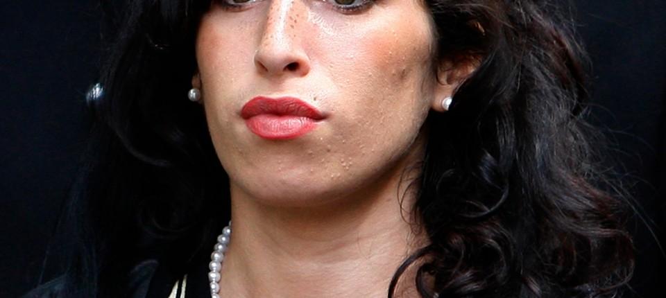 Zum Tod Von Amy Winehouse Du Weisst Ich Bin Nicht Gut Pop Faz