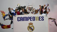 Real feiert Champions League-Sieg in Madrid