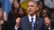 Obama lobt Mut der getöteten Polizisten