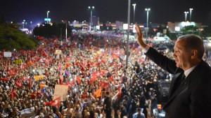 Erdogan fordert sofortiges Ende der Proteste