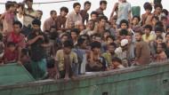 Malaysia und Indonesien wollen Bootsflüchtlinge zeitweise aufnehmen