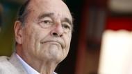 Frankreichs Ex-Präsident Chirac in Krankenhaus eingeliefert