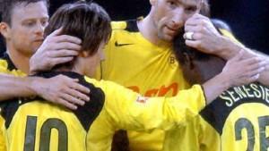 Koller läßt Dortmund hoffen und zittern