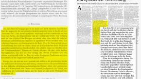 Guttenberg Vergleich NZZ Gott hat keinen Platz in der europäischen Verfassung