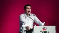 Tsipras will die Spar-Gegner auf Linie zwingen