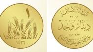IS führt eigene Gold- und Silbermünzen ein