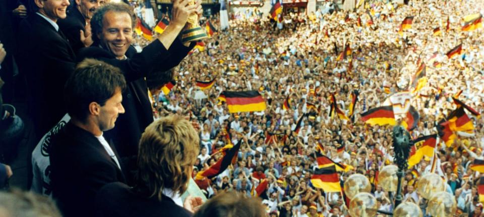 Deutsche Weltmeisterjahre 1990 Wieder Zusammen Aber