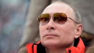Macht, Modebewusstsein, Machismo: Putin im März während der Olympischen Winterspiele in Sotschi