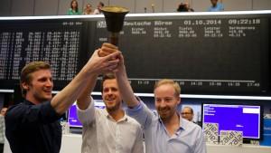 Zalando-Aktie schließt auf Ausgabepreis