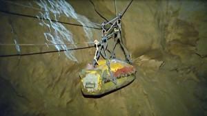 Höhlenretter-Team erreicht Biwak 2
