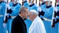 Papst ruft zur Achtung der Religionsfreiheit auf
