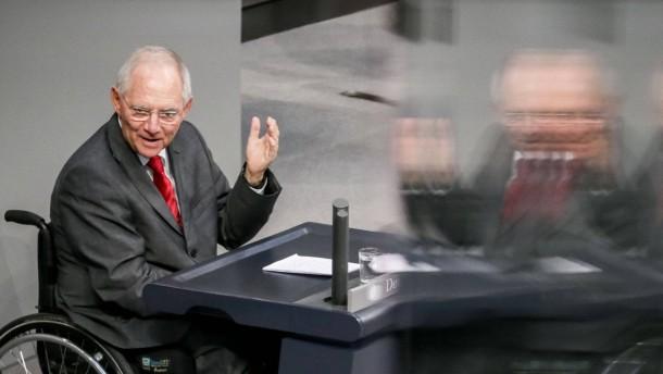 """Schäuble schließt ungeplanten """"Grexit"""" nicht mehr  aus"""