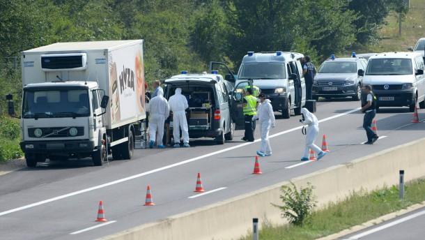 """""""Ein Lastwagen voller Leichen"""""""