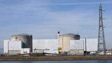 Auch über dem Atomkraftwerk in Fessenheim nahe der deutschen Grenze sollen in den vergangenen Tage Überflüge stattgefunden haben.