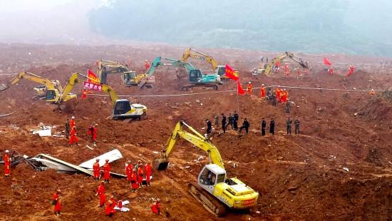 Erdrutsch in Südchina