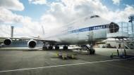Mit der 747 von Seattle nach Frankfurt