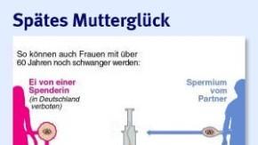 Infografik / Spätes Mutterglück