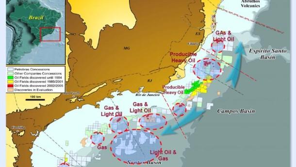 Ölfund treibt brasilianische und spanische Aktien