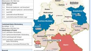 Freistaat Bayern verbietet Bayern LB Fusionen