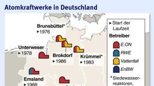 Störfälle in deutschen Atomkraftwerken