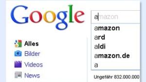 Google ist schneller als Ihre Finger