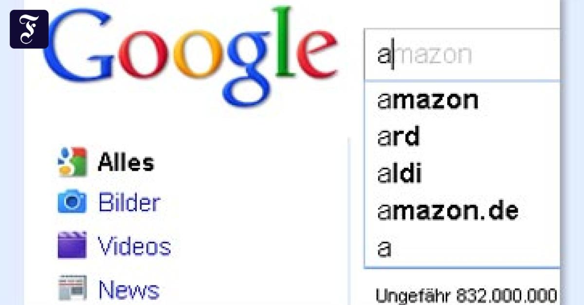 Google 1 Milliardste Suche