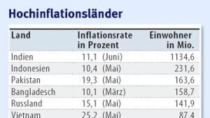 Die Inflation hat die ganze Welt erfasst
