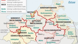 Die größten Landkreise Deutschlands