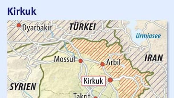 Zwanzig Tote bei Anschlägen in Kirkuk
