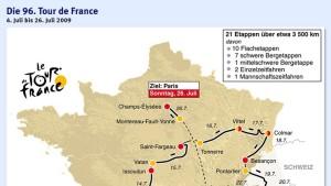 Vom Mount Ventoux nach Paris
