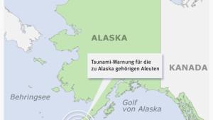 Tsunami-Warnung für Aleuten wieder aufgehoben