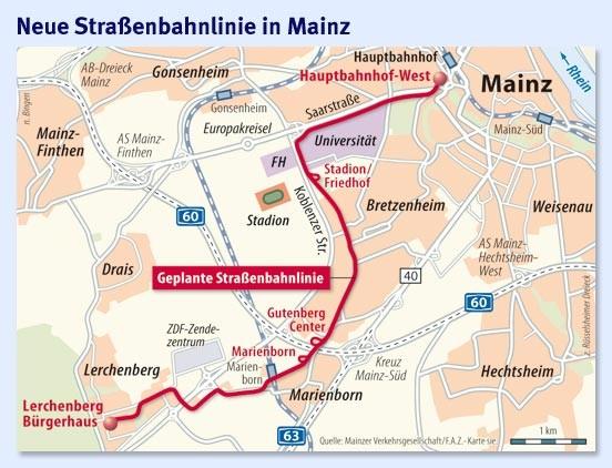 Bild zu Mainz Qualittssprung im Nahverkehr Bild 1 von 1 FAZ