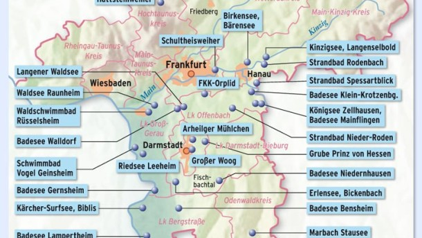 Badesee Rhein Main